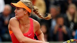 Eugenie Bouchard Wins First Round In French