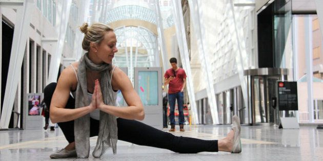 This Lawyer Gave It All Up To Open A Yoga Studio -- For People Like