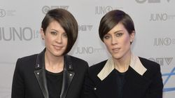 Tegan And Sara Go Quirky Chic At The