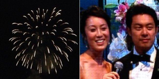 Vancouver Fireworks Cap Off Lavish Wedding At Convention