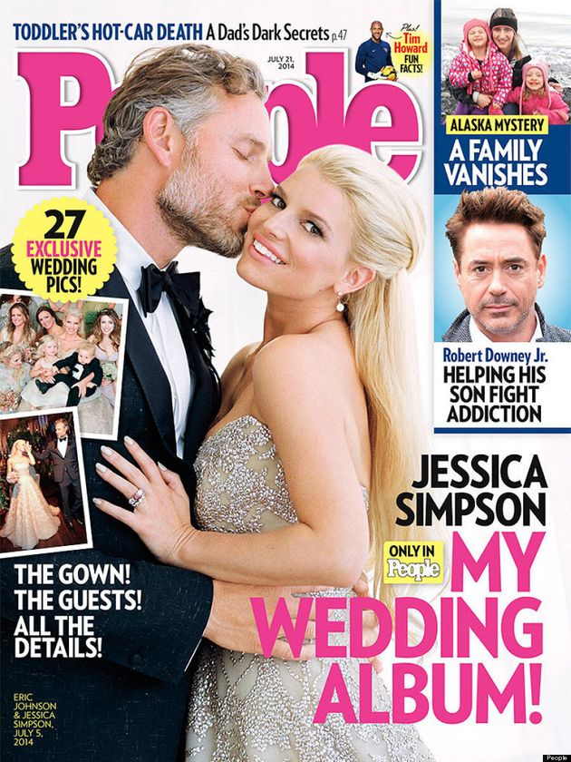 Jessica Simpson's Wedding Dress Is A Sparkle Lover's