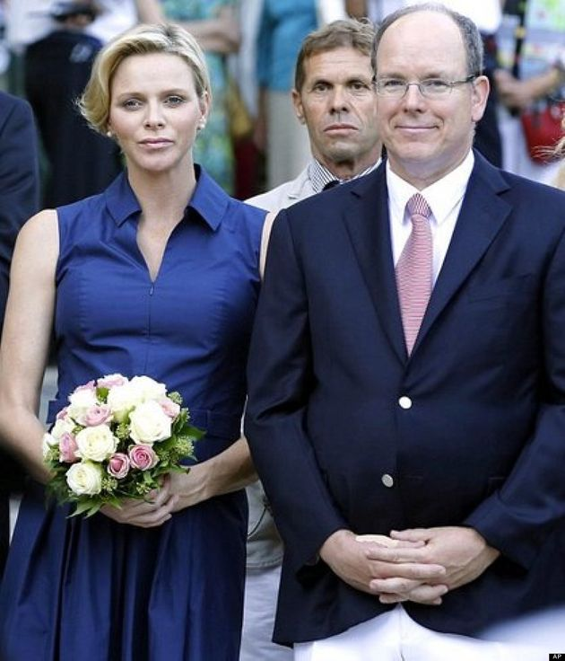 Princess Charlene Of Monaco Shows Off Tiny Baby