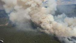 B.C. Wildfire Quadruples In