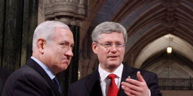 Harper Confirms Canada's Support For Israel Amid Ongoing