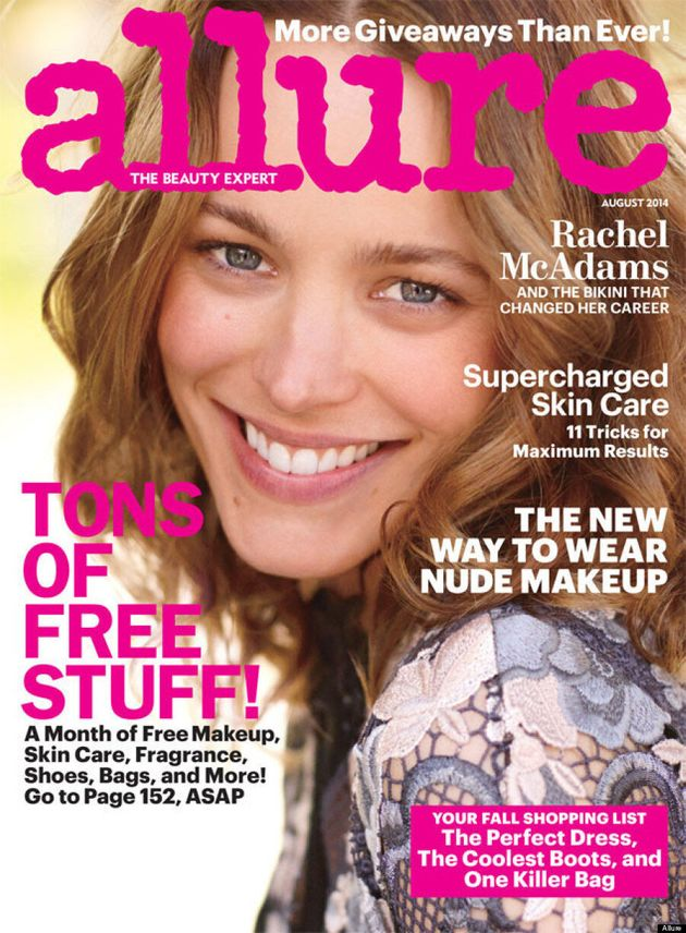 Rachel McAdams Wears No Makeup For Allure, Looks