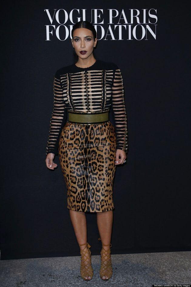 Kim Kardashian's Clashing Outfit Isn't Her Best