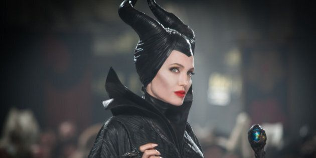 This July 17 2012, photo, released by Disney shows Angelina Jolie in a scene from