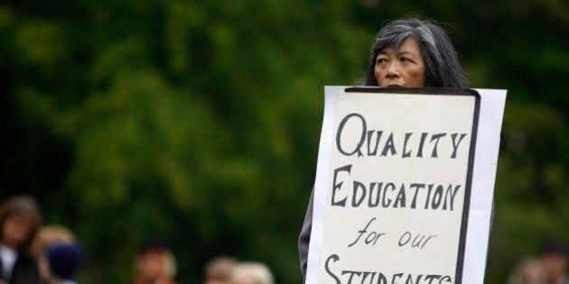 B.C. Teachers' Strike 'Almost A Holy War' For Union: