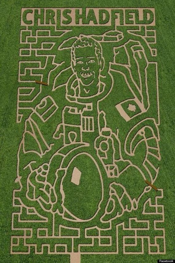 Chris Hadfield Maze Is Simply Out Of This World