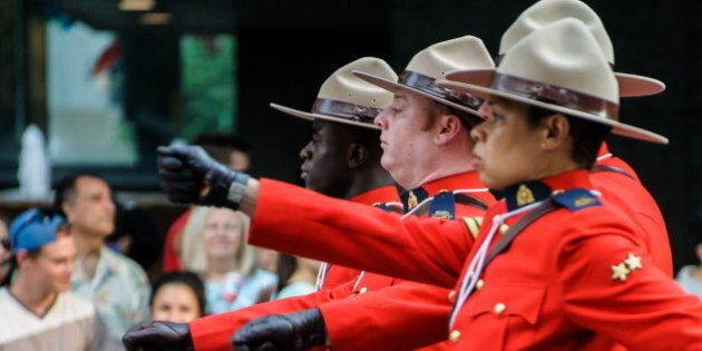 [UNVERIFIED CONTENT] RCMP, parade, Canada Day, Canada Day Parade, Royal Canadian Mounted Police, Mounties,...