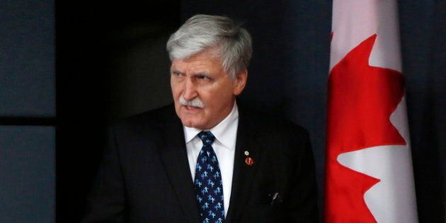 Sen. Romeo Dallaire, Former Soldier, To Resign From Upper