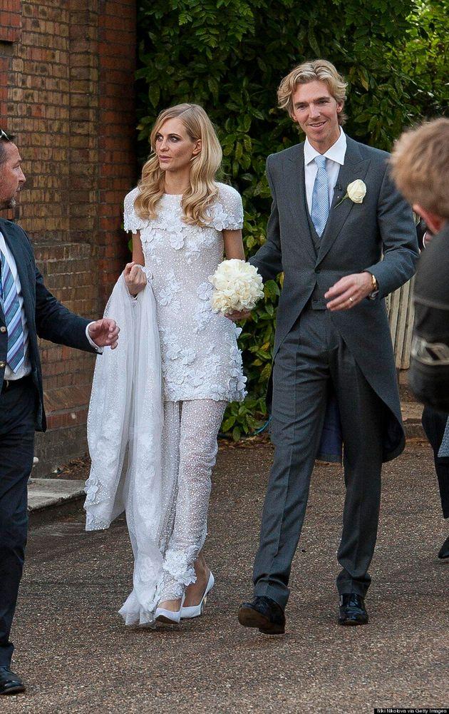 Poppy Delevingne Wore The Most Amazing Second Wedding