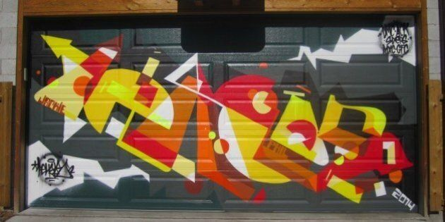 This Garage Graffiti Project In Toronto Is Simply Stunning