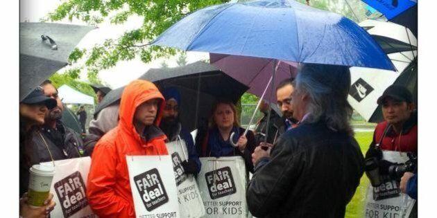 B.C. Teachers Strike 2014: Pay Cut Justified, Argues