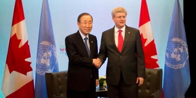 Maternal Health Summit: Ban Ki-moon, UN Secretary General, Urges Canada To Boost Foreign