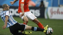 OUCH: Argentine Tears His Anus While Stopping A