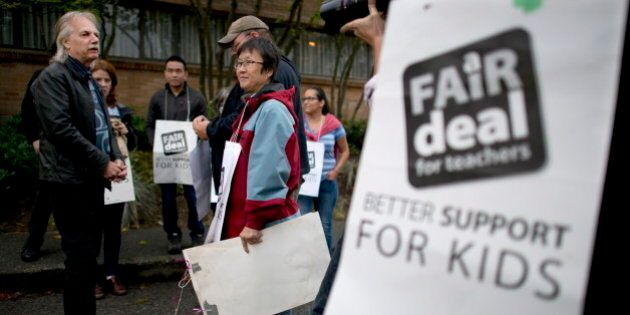 B.C. Teachers Strike 2014: Union Calls For Binding