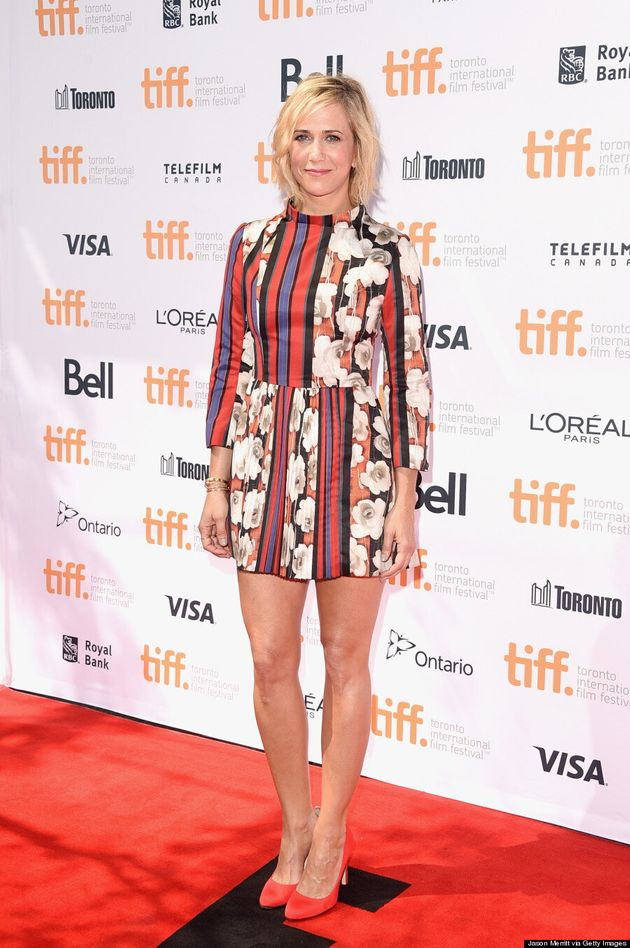 Kristen Wiig's TIFF 2014 Outfit Is Appropriately