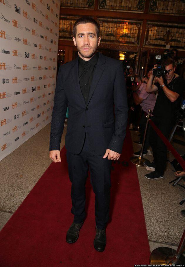 Jake Gyllenhaal TIFF 2014: 'Nightcrawler' Star Does A Hot Blue Steel
