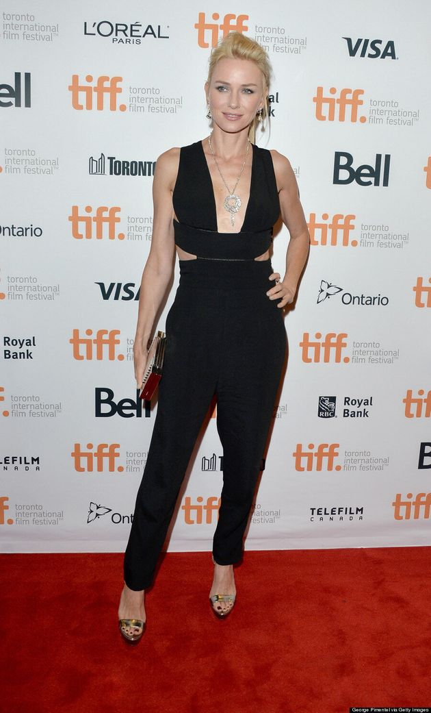 Naomi Watts' TIFF 2014 Plunging Jumpsuit Is Sexy