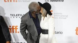 Morgan Freeman, Diane Keaton Seal The Red Carpet With A