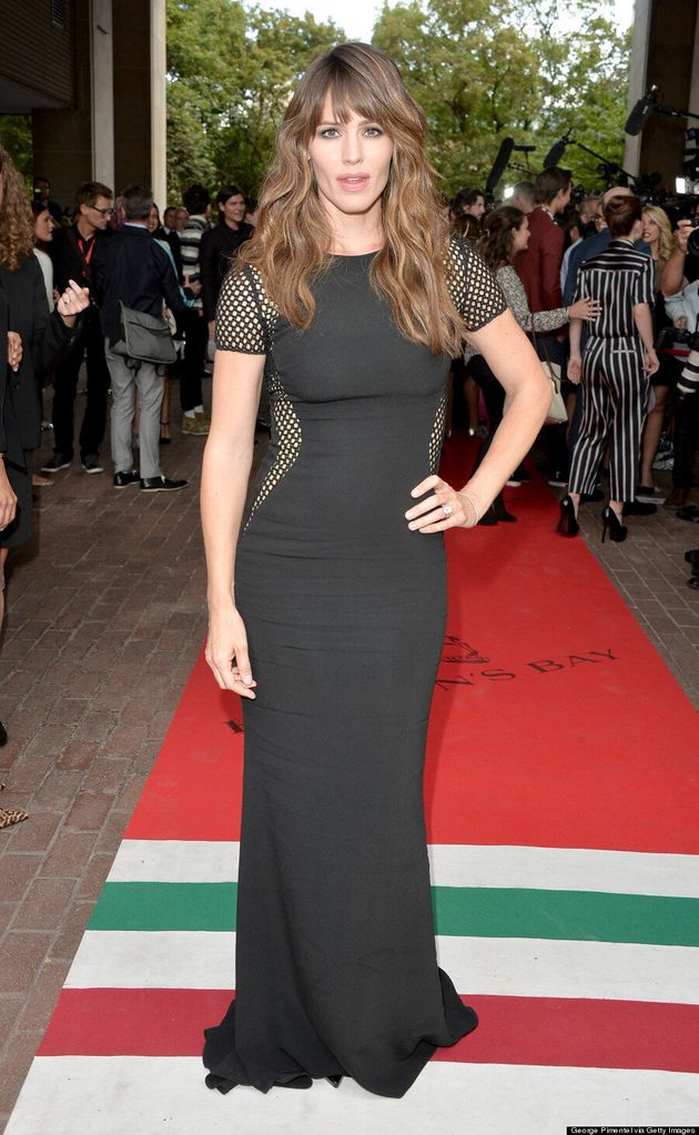 Jennifer Garner's TIFF 2014 Dress Is A Sexy Netted