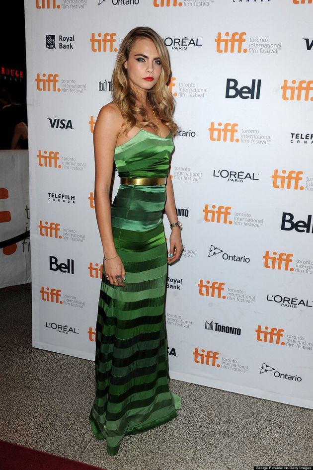 Cara Delevingne Makes Her TIFF 2014 Debut In True Model