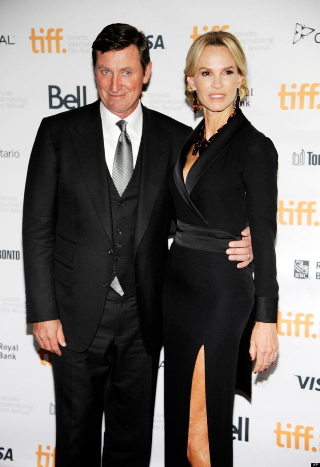 Wayne Gretzky And Janet Gretzky Are TIFF 2014's Hottest