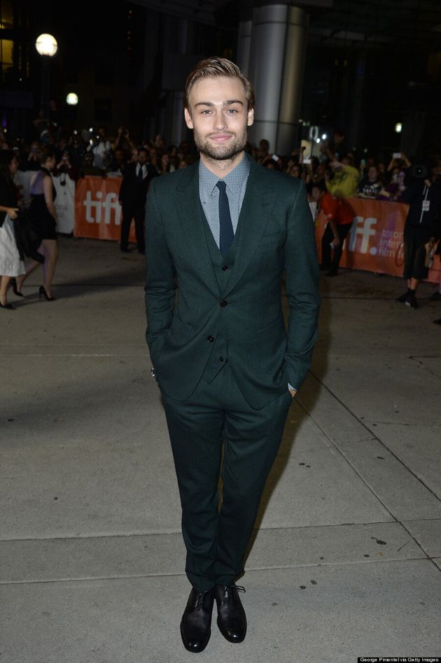 Douglas Booth Sets Hearts Aflame At TIFF