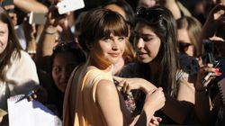 Felicity Jones Brings Elegant Glamour To