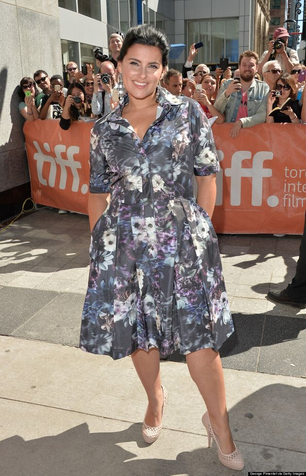 Nelly Furtado's TIFF 2014 Dress Is The Perfect Fall Transition