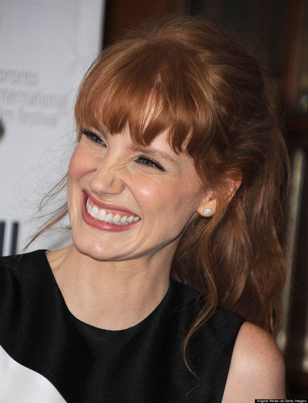 Jessica Chastain's TIFF 2014 Red Carpet Appearance Is Super