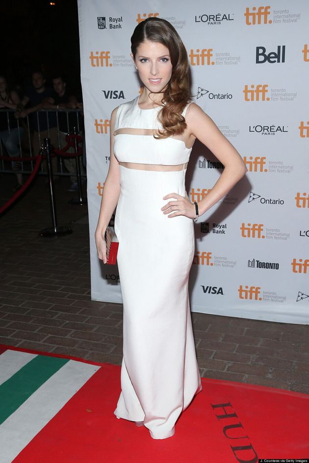 Anna Kendrick TIFF 2014: 'Pitch Perfect' Star Turns Up The Heat In White