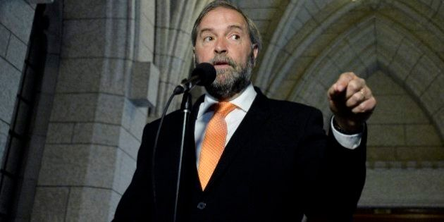 Thomas Mulcair Predicts 3-Way Fight In 2015 Federal