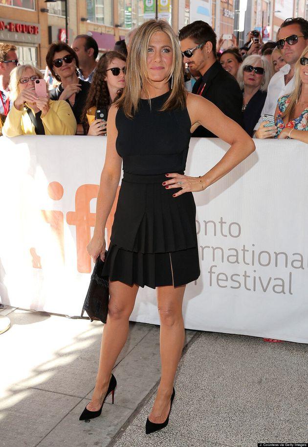 Jennifer Aniston's TIFF 2014 Dress Is An LBD,