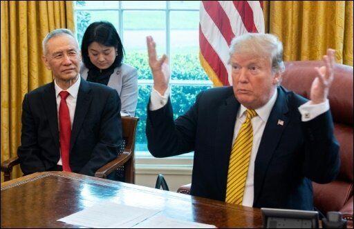 Trump à la Chine: négociez maintenant, ça sera