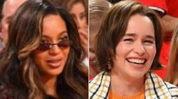 Beyonce, Emilia Clarke Were At The Rockets-Warriors Game, 1 Of Them Got Trolled On Big