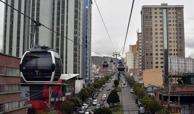 Βολιβία: Τα τελεφερίκ βάζουν τέλος στο κυκλοφοριακό στην πρωτεύουσα Λα