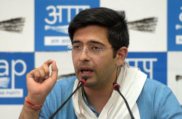 AAP Candidate Raghav Chadha Alleges Bogus Voting In Delhi's Sangam