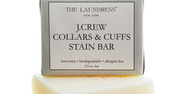 Can This J.Crew Collars & Cuffs Stain Bar Remove Dirt From Clothes? We Put It To The