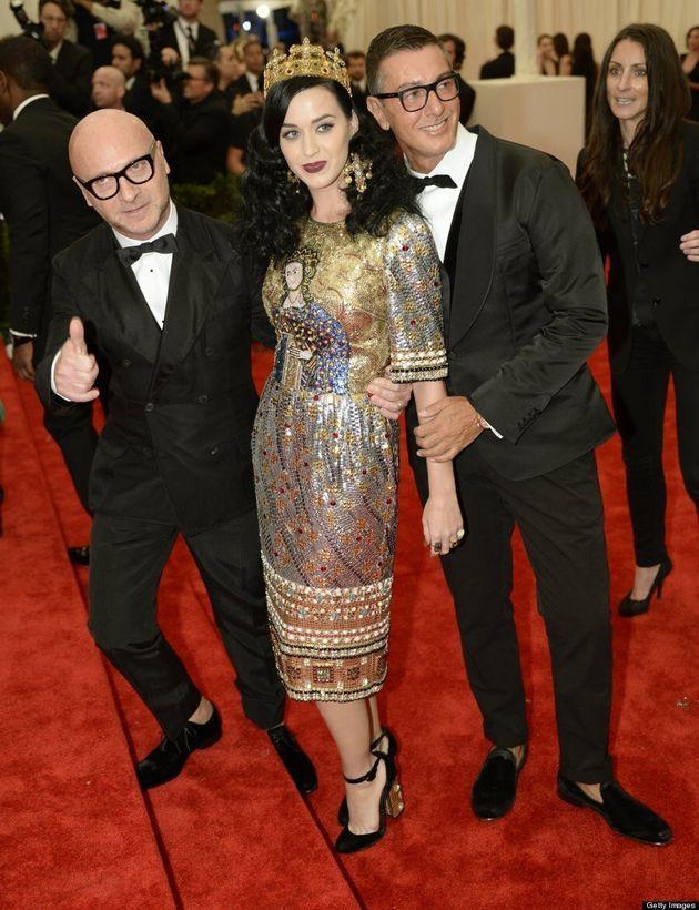 Katy Perry's 2013 Met Gala Look: 'Firework' Singer Wears Crown