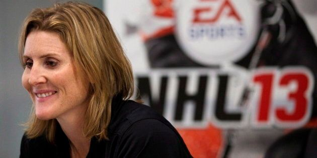 Hayley Wickenheiser In NHL '13: Calgary Star Among First Females Featured In Hockey Video
