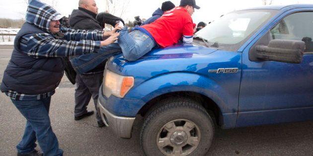 Idle No More: Jonathan Denis Says QEII Highway Roadblock Not