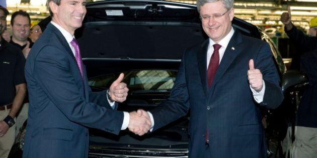 Harper Praises McGuinty, Hopes For Good Relationship With Next Ontario