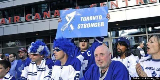 'Toronto Stronger' Sign Draws Outrage From Maple Leafs And Bruins