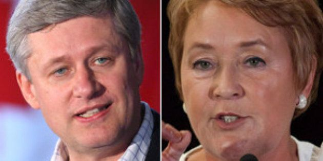 Harper Marois Meeting: Pauline Marois Says Meeting With Stephen Harper Was 'Excellent,' 'Almost