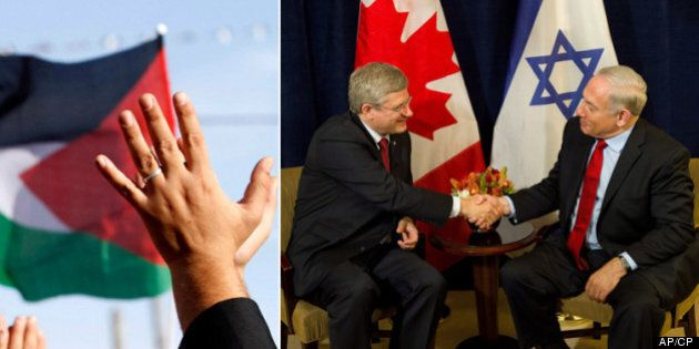 Harper Government's Palestine Stance At UN Opposed By Many Canadians: