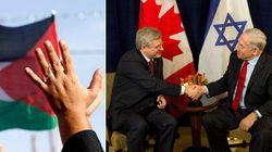 Harper's Palestine Move Angered