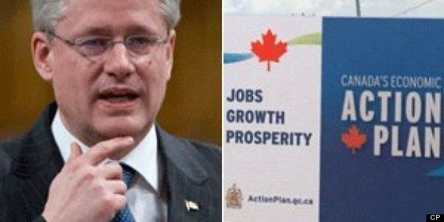 Economic Action Plan Ads: Harper Cites Pride To Defend $113 Million In
