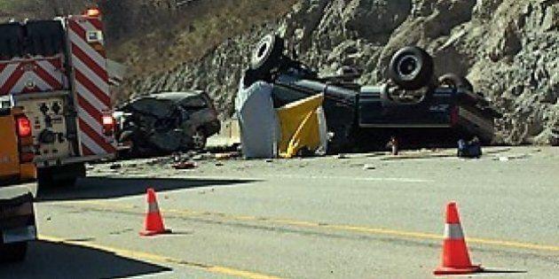 Highway 97 Crash Kills 2 Near